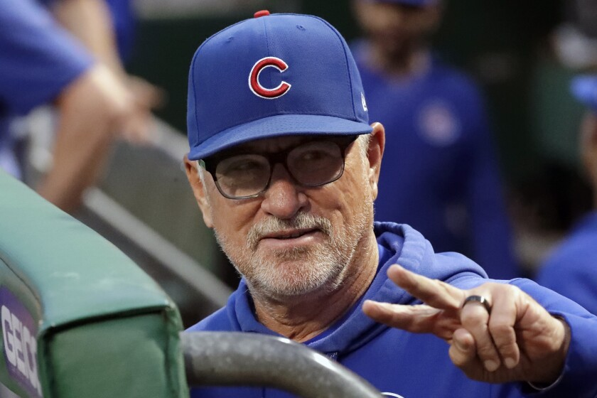 Column: Hiring calm, cerebral Joe Maddon as manager was ideal for Angels team in turmoil