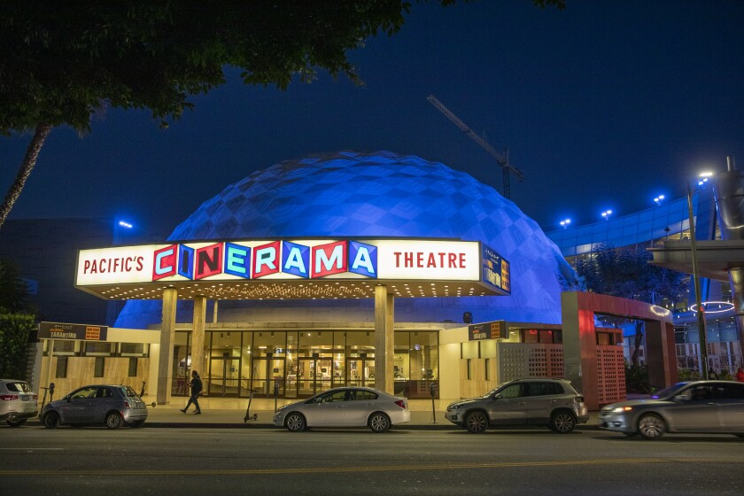 The Arclight Hollywood and Cinerama Dome.