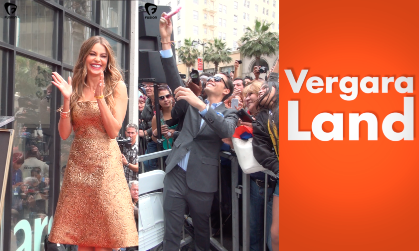 Actress Sofia Vergara's rise to fame is documented by her son, Manolo Gonzalez Vergara, is a new short-video series on Snapchat Discover channel Fusion.