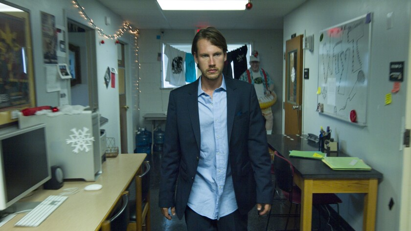 "John Robinson in a scene from the movie ""Billboard."" Credit: Indie Rights"