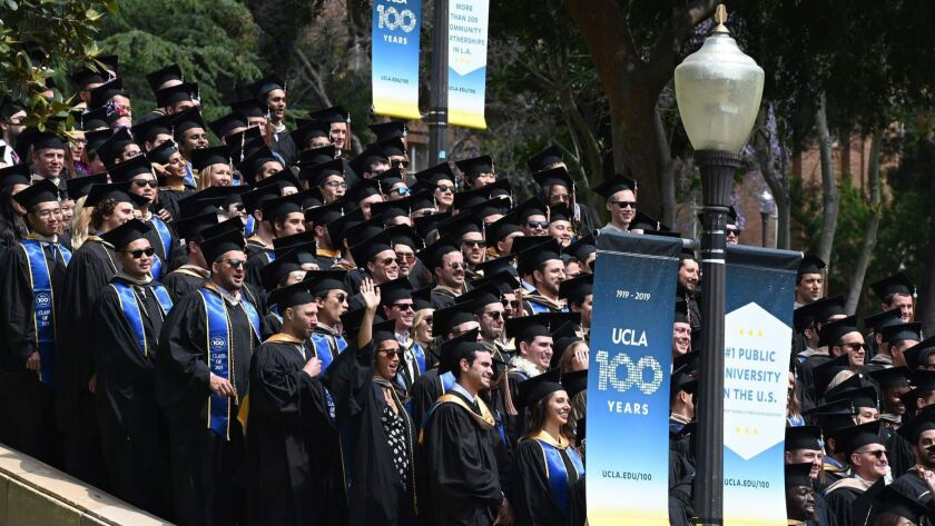 The graduating class of UCLA on June 14: Behind the pomp, a bitter battle over scholarly publishing.
