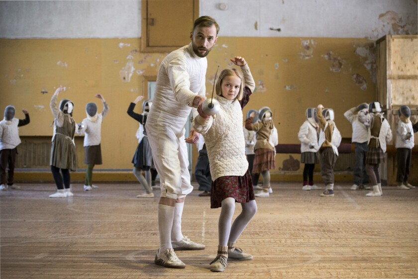 """Mart Avandi stars in """"The Fencer,"""" directed by Klaus Haro."""