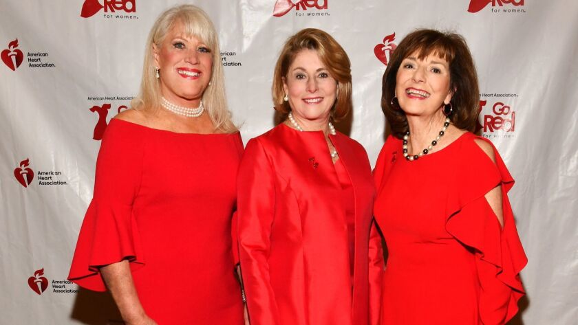 Legendary Women of the Heart 2019 inductees: Joan Embery, Robin Tharp Nordhoff, Nikki Clay