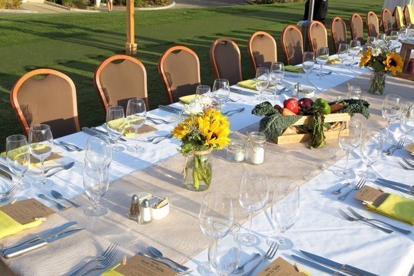 Farm to Table Dinner at the RSF Golf Club