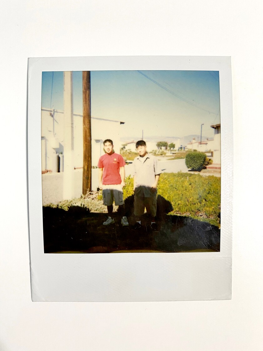 Brian and Andrew Park in Ensenada, Baja California, Mexico