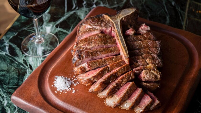 Born & Raised's porterhouse steak. Anne Watson photo