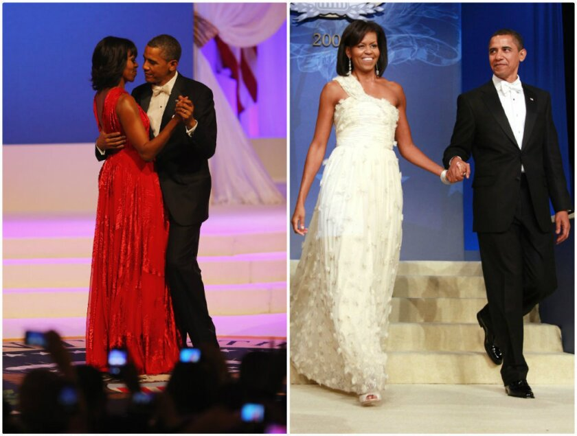 Michelle Obama S Inaugural Ball Gown It S Jason Wu Times Two