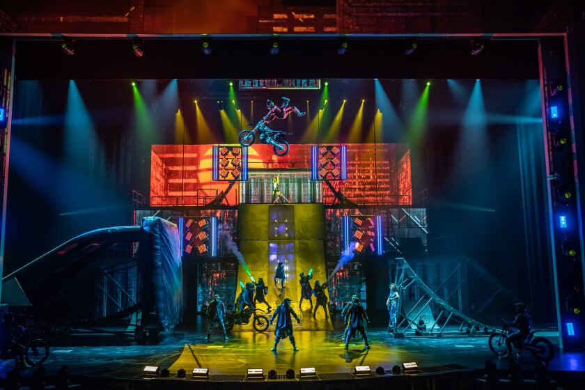 "Cirque du Soleil's forthcoming new Las Vegas show is ""R.U.N,"" the company's first live-action thriller, written by filmmaker Robert Rodriguez."