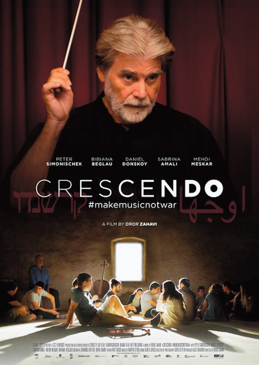 'Crescendo,' a German film about the challenges of creating harmony, is one of the 2020 San Diego International Jewish Film Festival highlights, screening Feb. 16 and 17 at Reading Cinemas Town Square in Clairemont.