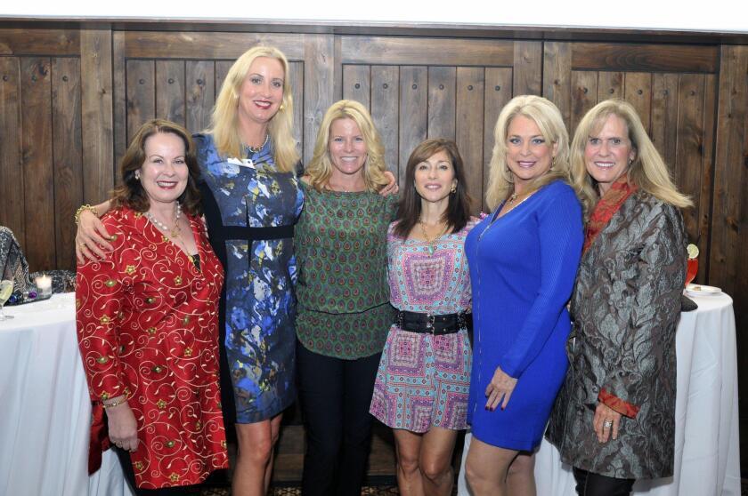 Linda Howard, Sophia Alsadek, Alchera Ayyad, Judy Rowles, Carrie Woodland, founding member Nancy Hillgren