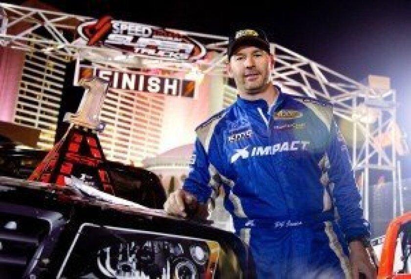 PJ Jones won the feature race