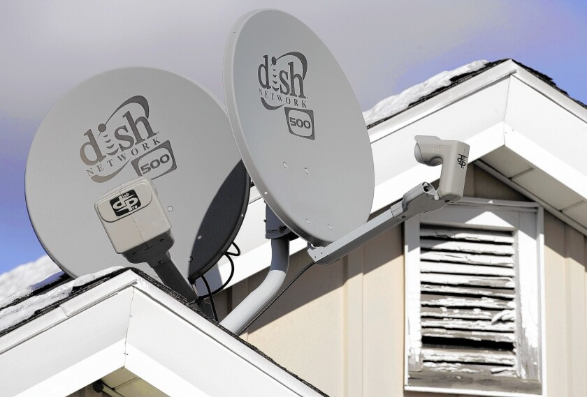 In its new distribution deal with Disney, Dish Network secured Internet streaming rights for content from Disney's ESPN, ESPN2, ABC Family, and Disney Channel and the eight ABC television stations that Disney owns. Above, Dish satellite dishes at a home in Buffalo, N.Y.