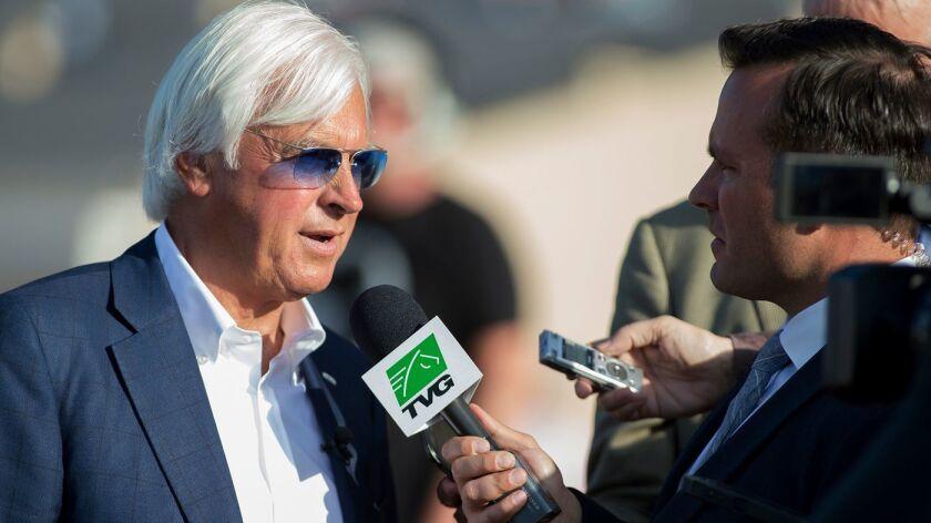 Trainer Bob Baffert will have the favorite in Saturday's Sorrento Stakes in Diamondsandpearls, a $1.7 million purchase.