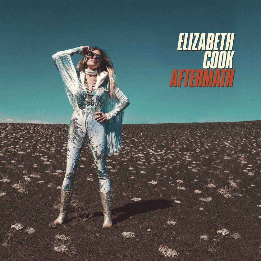 """This cover image released by Agent Love Records/Thirty Tigers shows """"Aftermath"""" by Elizabeth Cook. (Agent Love Records/Thirty Tigers via AP)"""