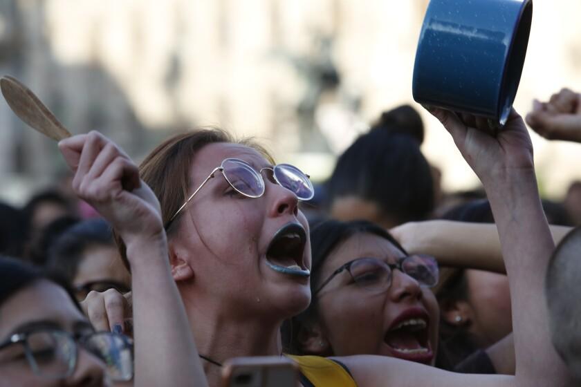 APTOPIX Mexico Women's Protest