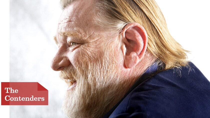 """Brendan Gleeson says that """"doing work like 'Calvary' where I'm being given challenges all the time is really where I want to go."""""""