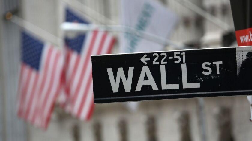 Wall Street has taken a hit