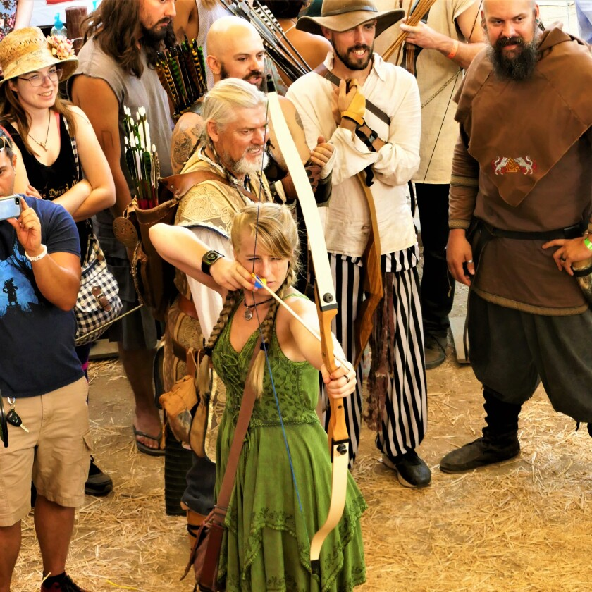 A photo of Vista Viking Festival