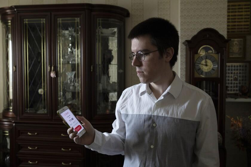 Virus Outbreak Russia Tracking App