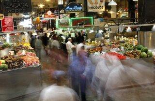 Take a tour Grand Central Market, DTLA's historic open marketplace