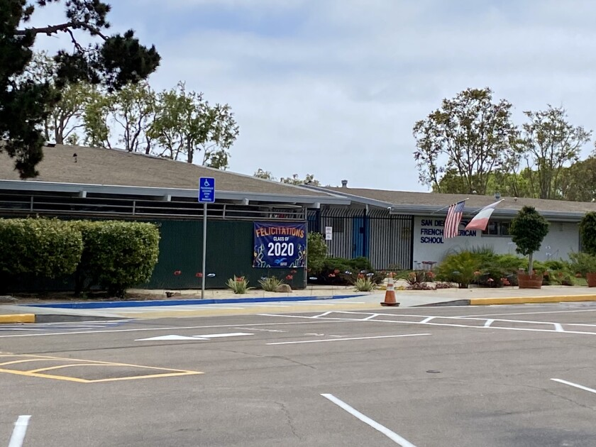 The San Diego French American School anticipates welcoming its students back to campus for the new school year.