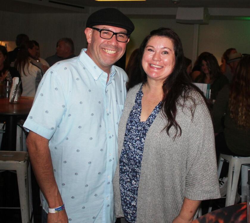 Jason Chamberlin and Tiffany Riley