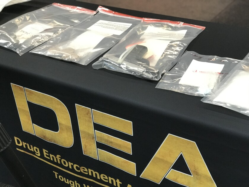 DEA drug arrests