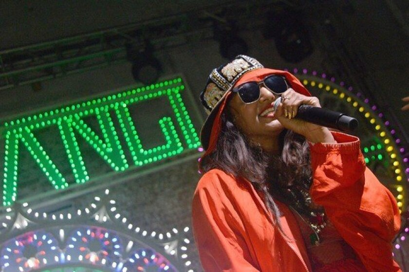 """M.I.A. says she's """"on the verge of leaking"""" new album."""