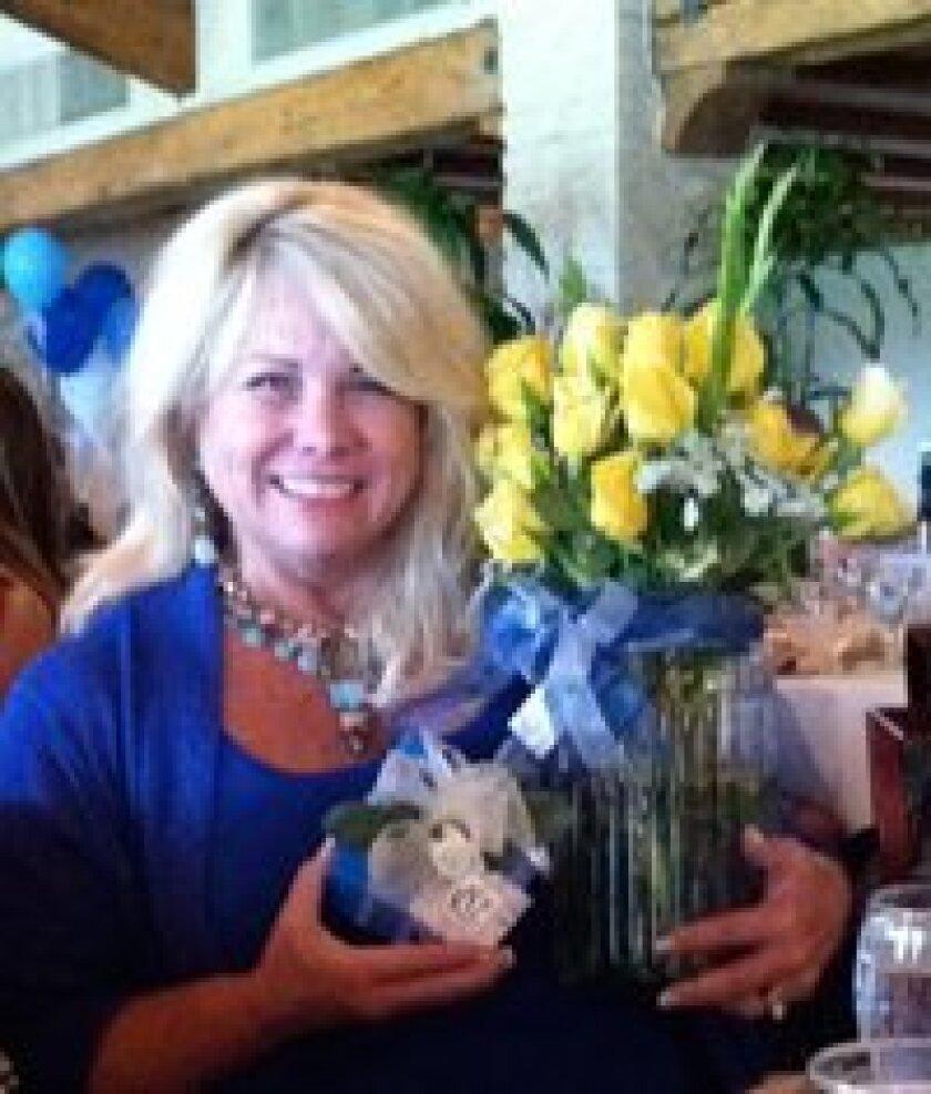 Loraine Dyson, recipient of the annual Mary Kollus Memorial Award.