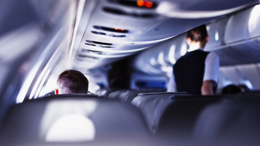 Flight attendants try to keep an eye on passengers, but sometimes the unexpected happens.