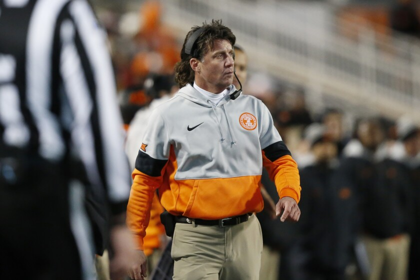 Oklahoma State football coach Mike Gundy is ready to get back on the field May 1, but science suggests it's going to be much longer for a resumption of sports.