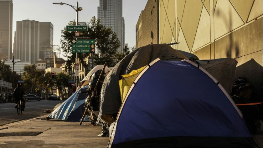 LOS ANGELES, CA -- WEDNESDAY, SEPTEMBER 19, 2018-- Los Angeles homelessness has increased significan