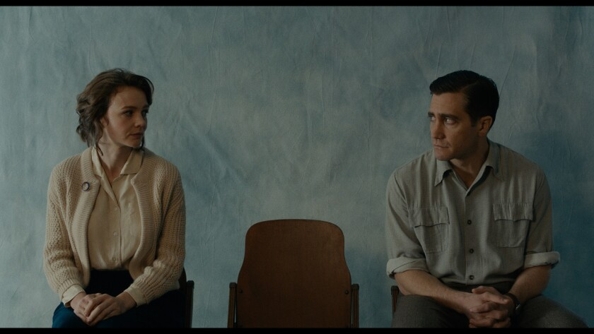 "(L-R) - Carey Mulligan as Jeanette Brinson, and Jake Gyllenhaal as Jerry Brinson in Paul Dano?s ""WIL"