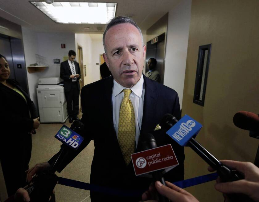"""Senate President Pro Tem Darrell Steinberg will accept his pay raise that takes effect Monday. """"I have accepted previous decisions by the independent Citizens Compensation Commission to adjust legislative pay and benefits. I will continue to accept their decisions now."""""""
