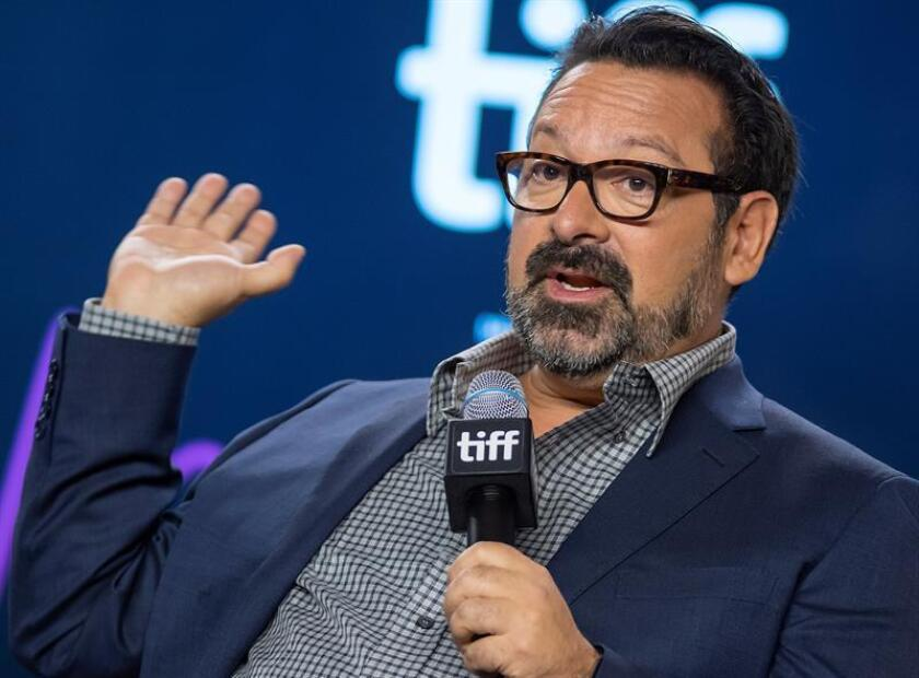 US director James Mangold attends the press conference for the movie 'Ford v Ferrari' during the 44th annual Toronto International Film Festival (TIFF) in Toronto, Canada. EFE/EPA/Warren Toda/File
