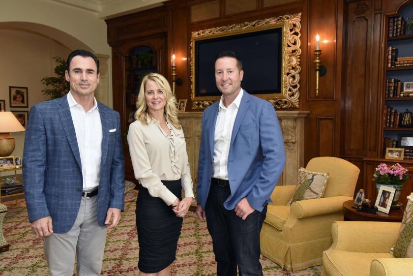 Barry Estates Broker Jason Barry, Realtor Kendra Gibilisco, Realtor Ryan McGovern