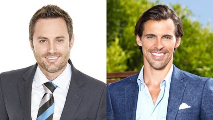 Justin Brennan (left) and Madison Hildebrand