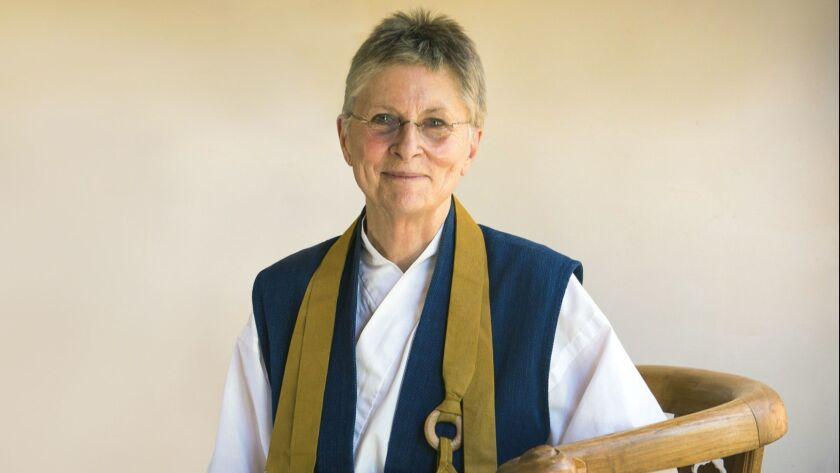 """Roshi Joan Halifax, a Buddhist teacher and Zen priest, will give a talk on """"The Power of Integrity in Our Burning World"""" at BuddhaFest."""