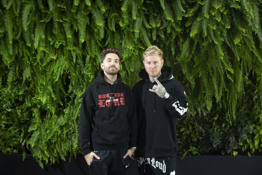 Rolling Loud cofounders Tariq Cherif and Matt Zingler