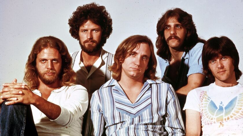 UNSPECIFIED - JANUARY 01: Photo of Glenn FREY and Joe WALSH and Don HENLEY and Don FELDER and EAGL