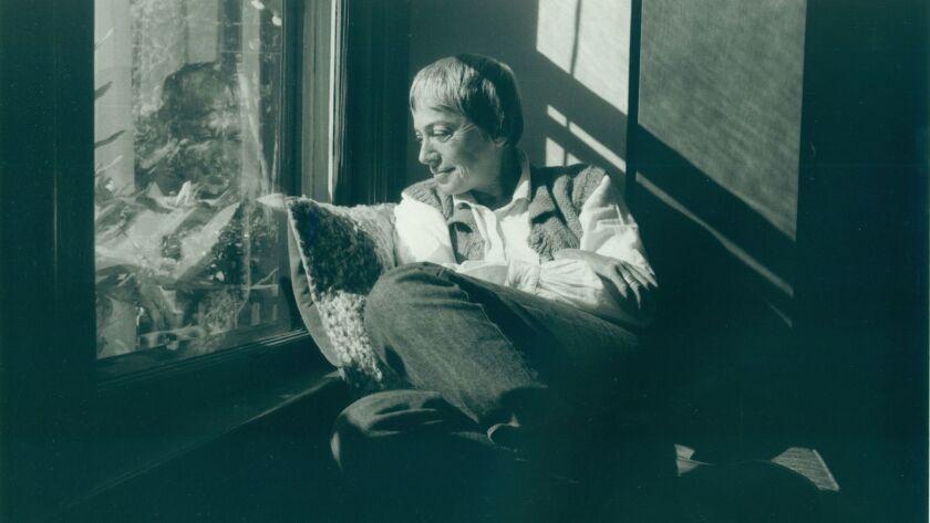 Ursula K. Le Guin in her Portland, Ore., home in 1985.