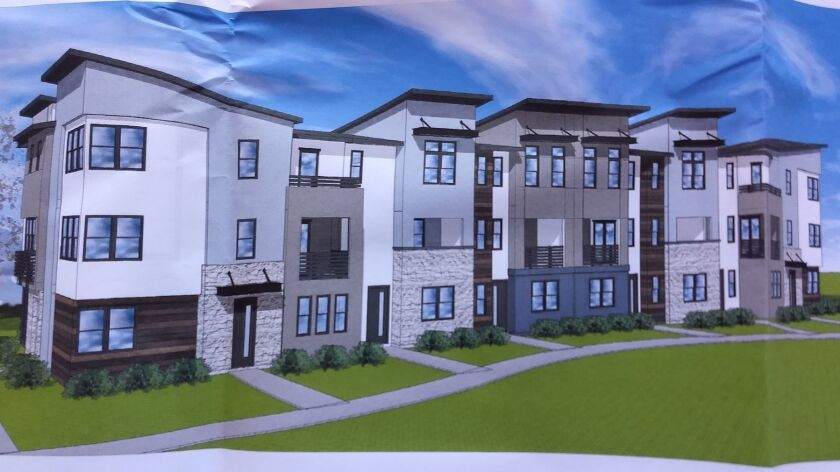 Of the 450 housing units proposed to be built on the old Palomar Hospital property in downtown Escon