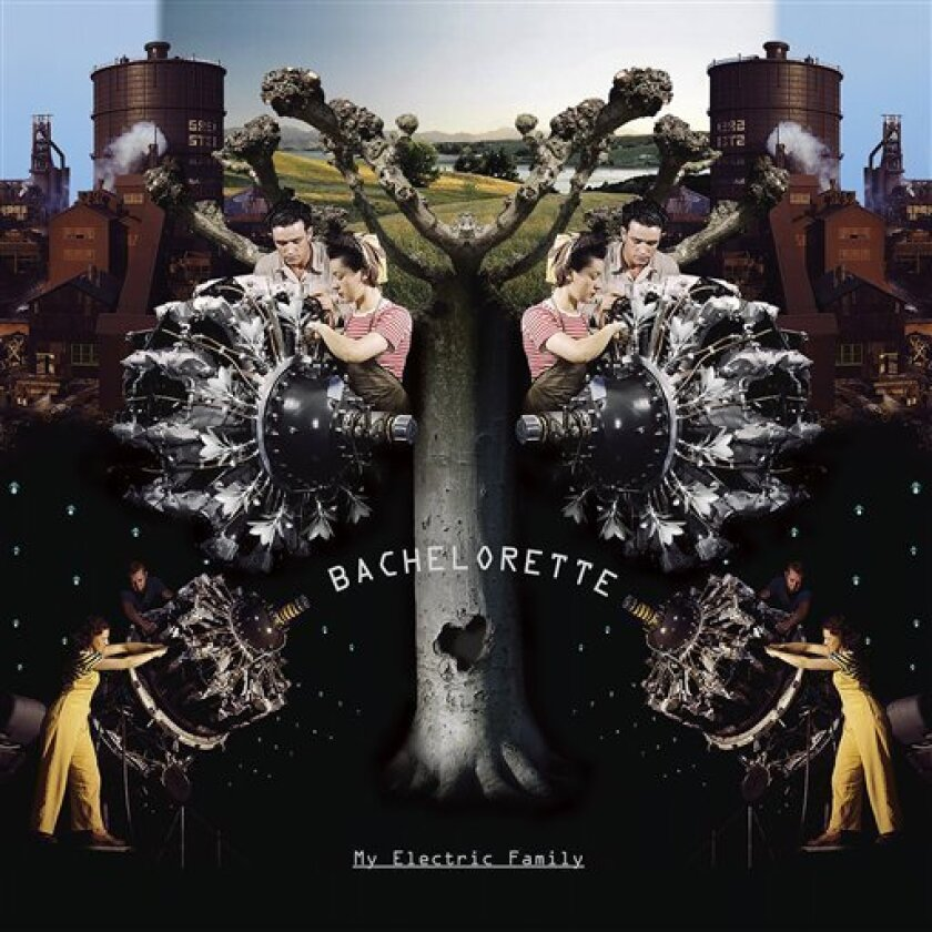 """In this CD cover image released by Drag City, the latest by Bachelorette, """"My Electric Family,"""" is shown. (AP Photo/Drag City)"""