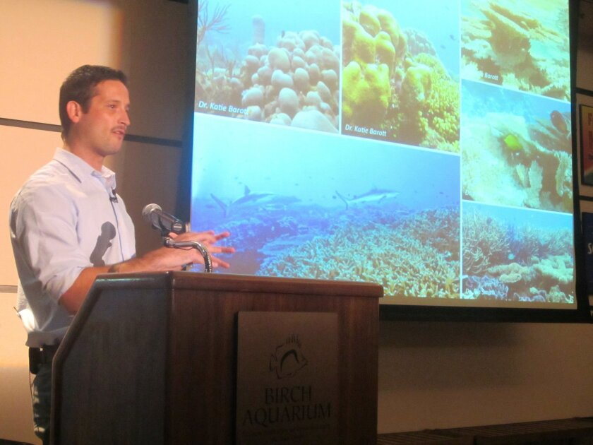 Biologist Martin Tresguerres describes the problem of ocean acidification and the various ways that a decreased pH could threaten marine systems.