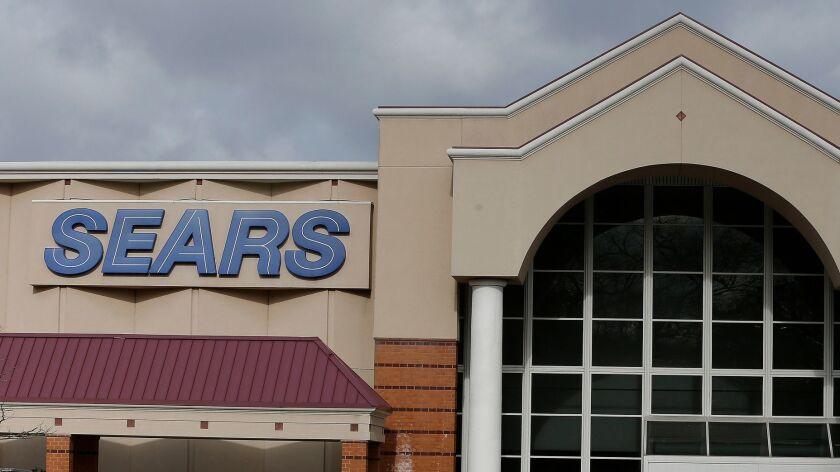 Sears department store in Saugus Massachusetts, USA - 09 Jan 2019
