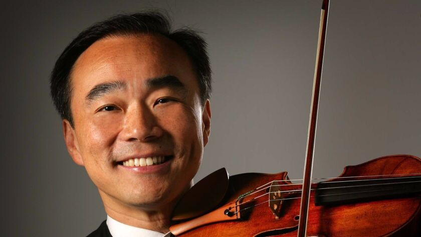 """Cho-Liang """"Jimmy"""" Lin, music director of SummerFest, says the opening concert is """"meant to be a show"""