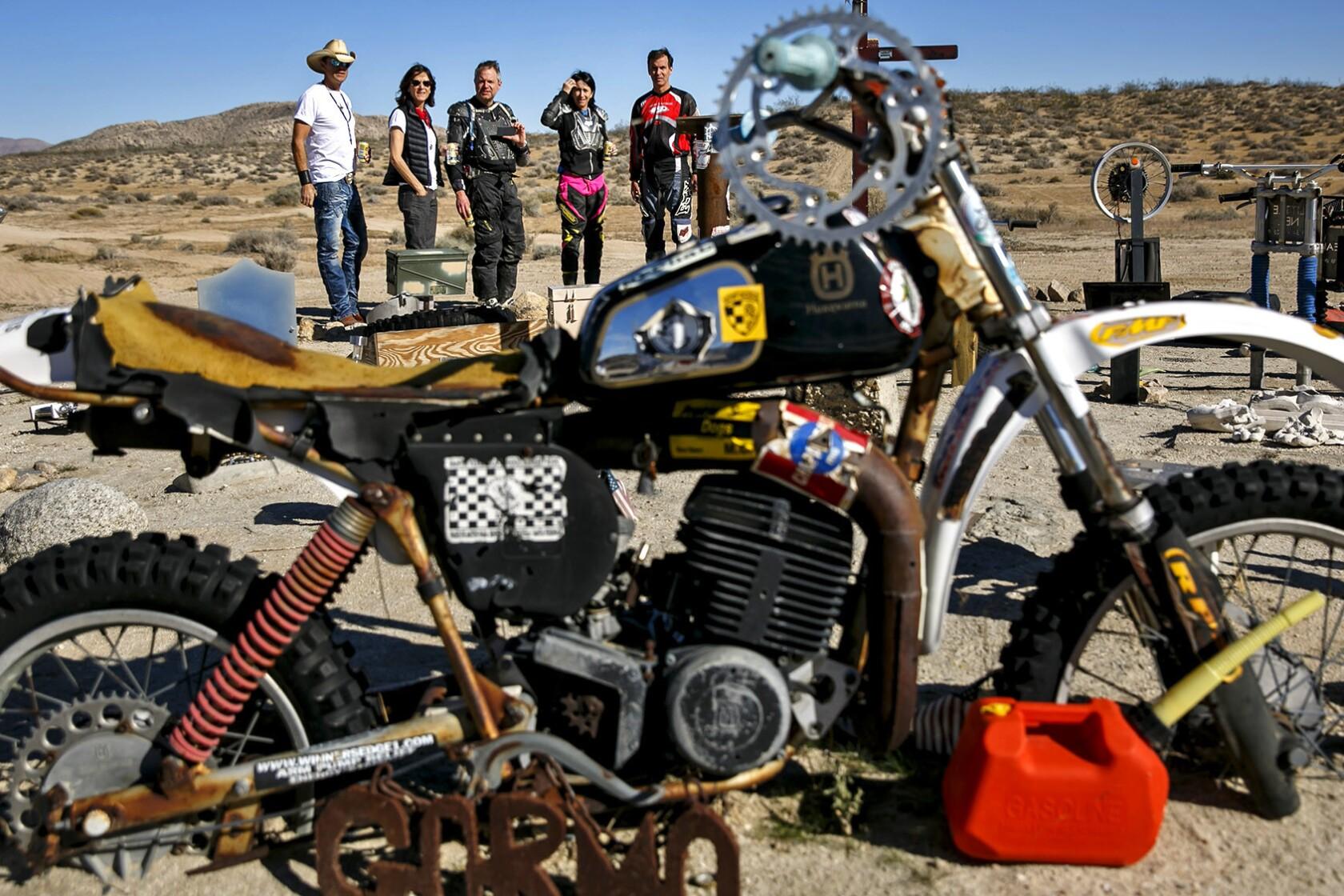 Deep In The Mojave Desert Lies A Secret Memorial To Fallen