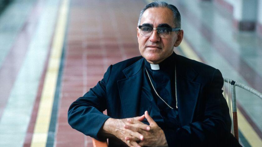 Archbishop Oscar Romero at his residence in San Salvador in July 1979.