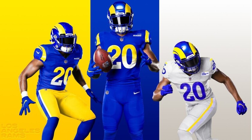 a look at Rams new uniforms.
