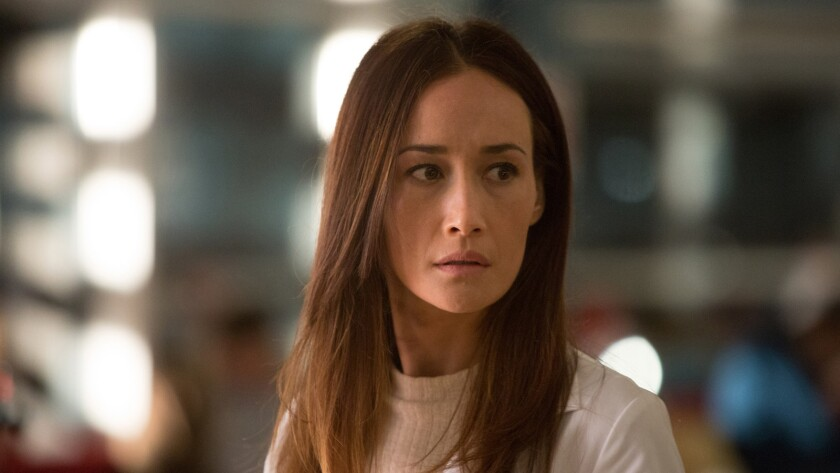 """Maggie Q in a scene from the movie """"Slumber."""" Credit: Vertical Entertainment"""
